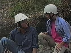 Brad Willis, Lauren Carpenter in Neighbours Episode 1869