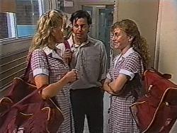 Annalise Hartman, Rick Alessi, Debbie Martin in Neighbours Episode 1869