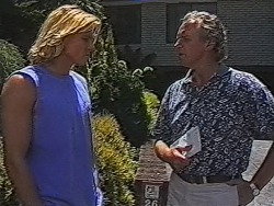 Brad Willis, Jim Robinson in Neighbours Episode 1869