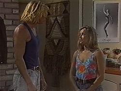 Brad Willis, Lauren Turner in Neighbours Episode 1870