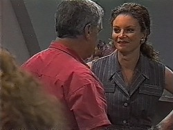 Lou Carpenter, Gaby Willis in Neighbours Episode 1870