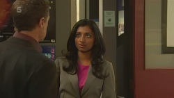 Paul Robinson, Priya Kapoor in Neighbours Episode 6333