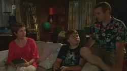 Susan Kennedy, Callum Jones, Toadie Rebecchi in Neighbours Episode 6343