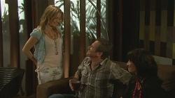 Natasha Williams, Michael Williams, Emilia Jovanovic in Neighbours Episode 6353