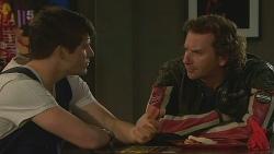 Chris Pappas, Lucas Fitzgerald in Neighbours Episode 6358