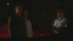 Michael Williams, Emilia Jovanovic, Const. Ian McKay in Neighbours Episode 6363