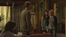 Emilia Jovanovic, Michael Williams, Summer Hoyland, Natasha Williams in Neighbours Episode 6363