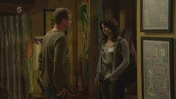 Michael Williams, Emilia Jovanovic in Neighbours Episode 6363