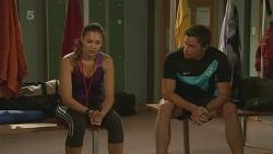 Jade Mitchell, Rhys Lawson in Neighbours Episode 6368
