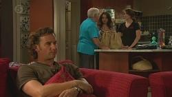 Lucas Fitzgerald, Lou Carpenter, Vanessa Villante, Kate Ramsay in Neighbours Episode 6388