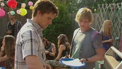 Rhys Lawson, Andrew Robinson in Neighbours Episode 6388