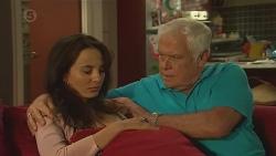 Vanessa Villante, Lou Carpenter in Neighbours Episode 6388