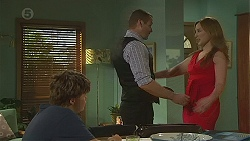 Callum Jones, Toadie Rebecchi, Sonya Mitchell in Neighbours Episode 6393