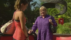 Jade Mitchell, Sheila Canning in Neighbours Episode 6398