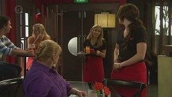 Sheila Canning, Natasha Williams, Kate Ramsay in Neighbours Episode 6398