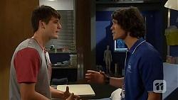 Chris Pappas, Aidan Foster in Neighbours Episode 6403