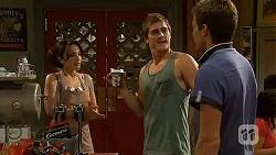 Vanessa Villante, Kyle Canning, Rhys Lawson in Neighbours Episode 6408