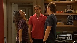 Jade Mitchell, Rhys Lawson, Kyle Canning in Neighbours Episode 6413