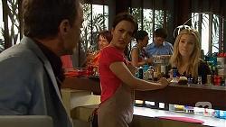 Paul Robinson, Vanessa Villante, Natasha Williams in Neighbours Episode 6413
