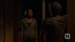 Jade Mitchell, Captain Troy Miller in Neighbours Episode 6413