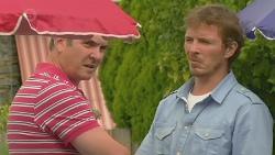 Karl Kennedy, Captain Troy Miller in Neighbours Episode 6417
