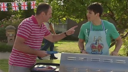 Karl Kennedy, Chris Pappas in Neighbours Episode 6417