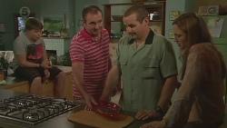 Callum Jones, Karl Kennedy, Toadie Rebecchi, Sonya Mitchell in Neighbours Episode 6417