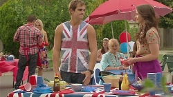 Kyle Canning, Sheila Canning, Kate Ramsay in Neighbours Episode 6417