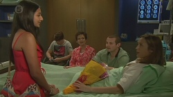 Rani Kapoor, Callum Jones, Susan Kennedy, Toadie Rebecchi, Sonya Mitchell in Neighbours Episode 6418