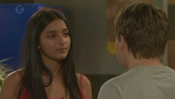 Rani Kapoor, Callum Jones in Neighbours Episode 6418
