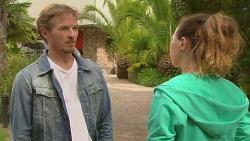Captain Troy Miller, Jade Mitchell in Neighbours Episode 6422
