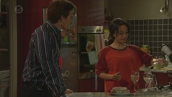 Rhys Lawson, Vanessa Villante in Neighbours Episode 6424