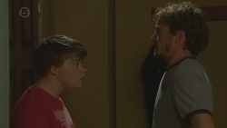 Callum Jones, Captain Troy Miller in Neighbours Episode 6426