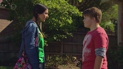 Rani Kapoor, Callum Jones in Neighbours Episode 6426