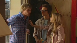 Andrew Robinson, Ed Lee, Natasha Williams  in Neighbours Episode 6428