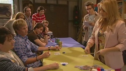Black Jack Player 1, Andrew Robinson, Black Jack Player 2, Ed Lee, Natasha Williams  in Neighbours Episode 6428