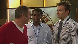 Karl Kennedy, Cameron Drake, Rhys Lawson  in Neighbours Episode 6428