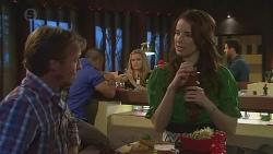 Captain Troy Miller, Natasha Williams, Kate Ramsay in Neighbours Episode 6429