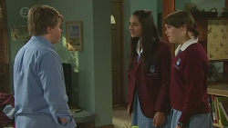 Callum Jones, Rani Kapoor, Sophie Ramsay in Neighbours Episode 6430