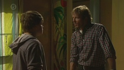 Callum Jones, Captain Troy Miller in Neighbours Episode 6430
