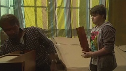 Captain Troy Miller, Callum Jones in Neighbours Episode 6431