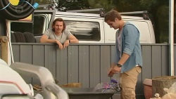 Lucas Fitzgerald, Kyle Canning in Neighbours Episode 6431