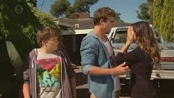 Callum Jones, Kyle Canning, Jade Mitchell in Neighbours Episode 6431
