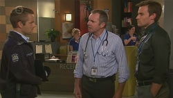 Constable Archie Silver, Karl Kennedy, Rhys Lawson in Neighbours Episode 6432