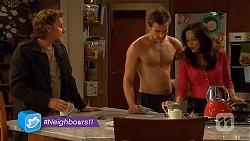 Lucas Fitzgerald, Rhys Lawson, Vanessa Villante in Neighbours Episode 6434