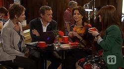 Susan Kennedy, Paul Robinson, Zoe Alexander, Summer Hoyland in Neighbours Episode 6434