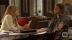 Natasha Williams, Andrew Robinson in Neighbours Episode 6434