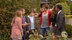 Sonya Mitchell, Toadie Rebecchi, Callum Jones, Kyle Canning, Jade Mitchell, Ajay Kapoor in Neighbours Episode 6436