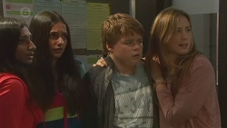 Priya Kapoor, Rani Kapoor, Callum Jones, Sonya Mitchell in Neighbours Episode 6437