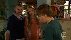 Toadie Rebecchi, Sonya Mitchell, Callum Jones in Neighbours Episode 6438